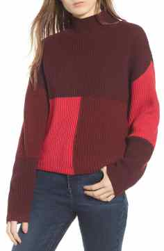 Nstrom Colorblock sweater